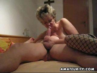 amateur anal creampie blowjob
