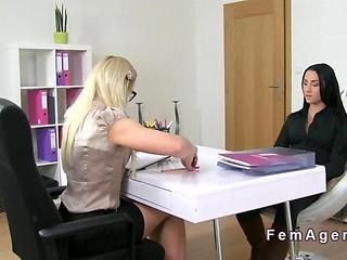 blonde brunette casting