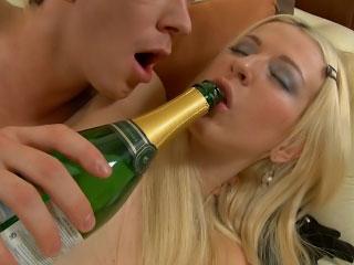ass fucking blonde lick