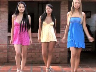 lesbian lesbian teen outdoor
