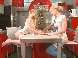 blonde dildo friend