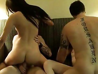 college hardcore orgy