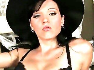 brunette halloween sweet
