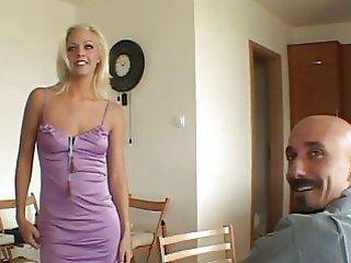 blonde blowjob bride