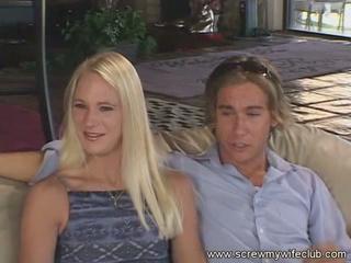 blonde group husband
