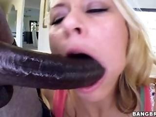black blonde dick