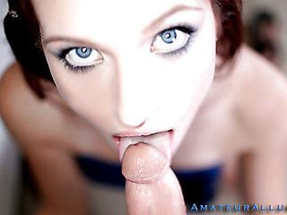 beautiful cum cum in mouth